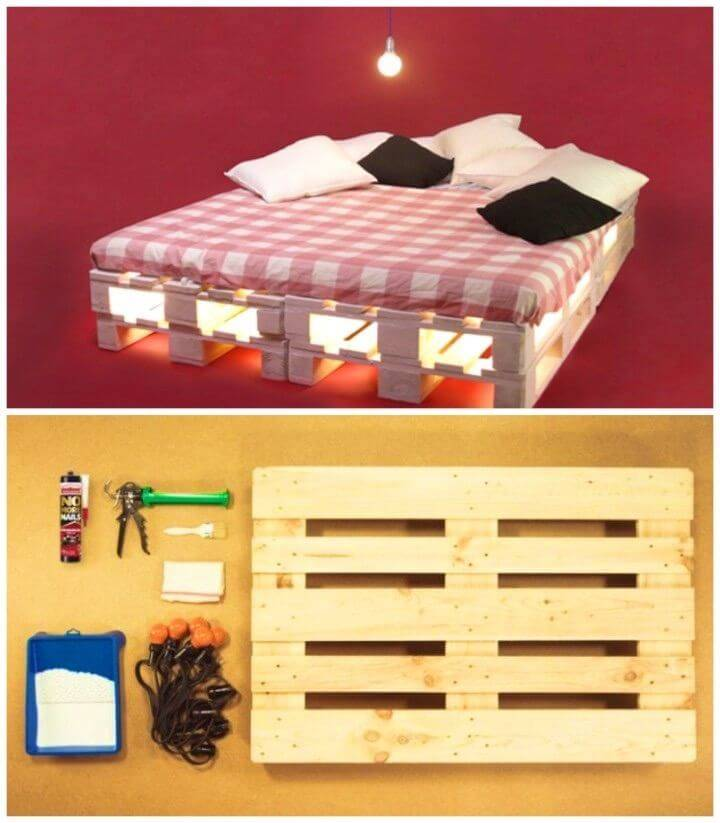 Create a Pallet Bed