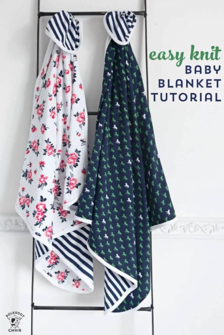 Cute and Easy DIY Baby Blanket