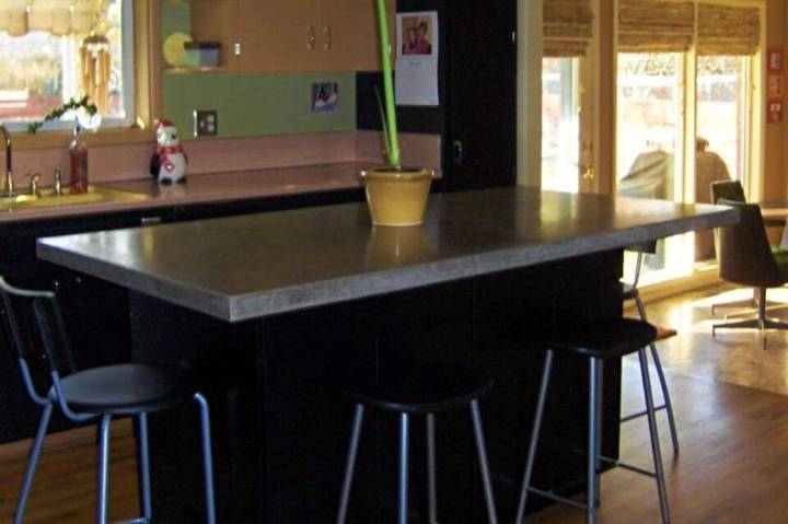 DIY Basic Concrete Countertop