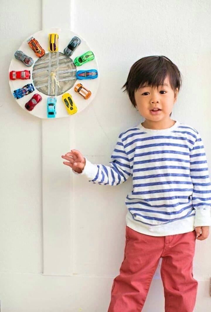DIY Car Clock Made Out Of Clay