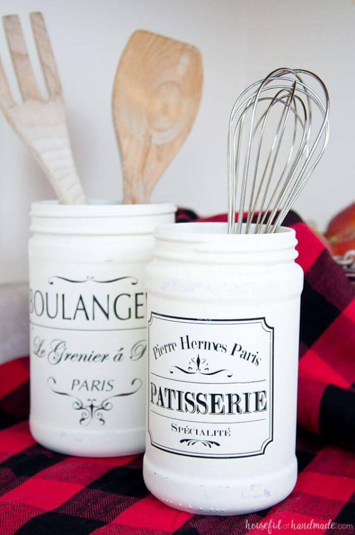 DIY Joanna Gaines Inspired Farmhouse Kitchen Canister