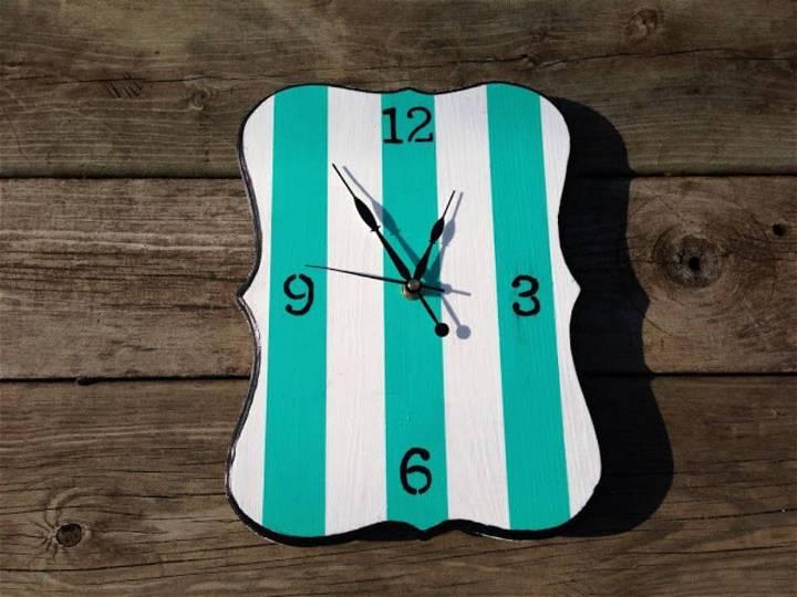 DIY Mod Podge Clock