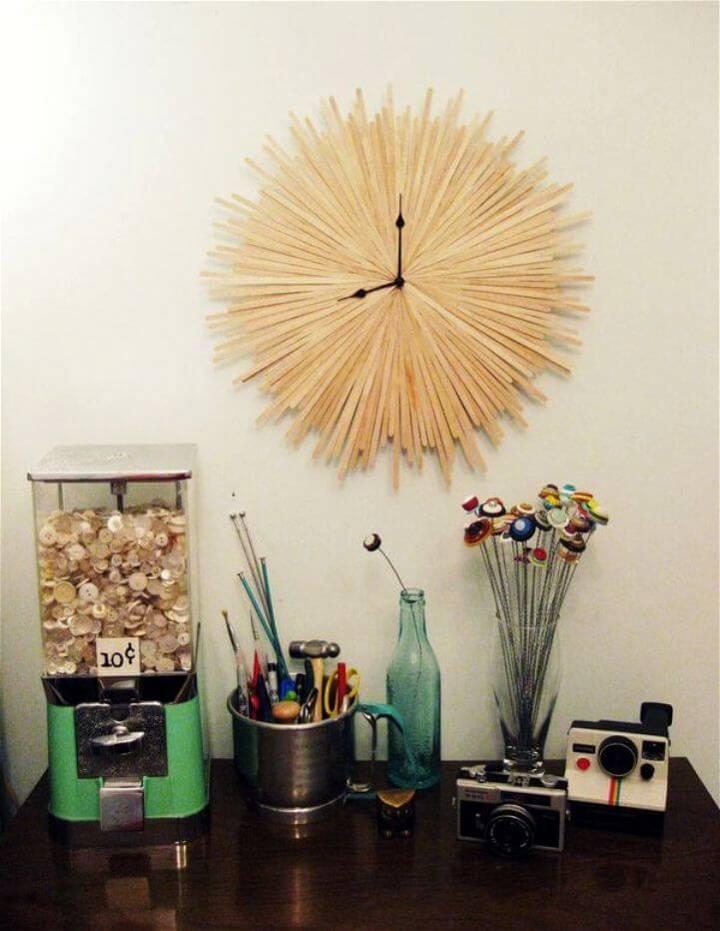 DIY Original Starburst Clock Tutorial