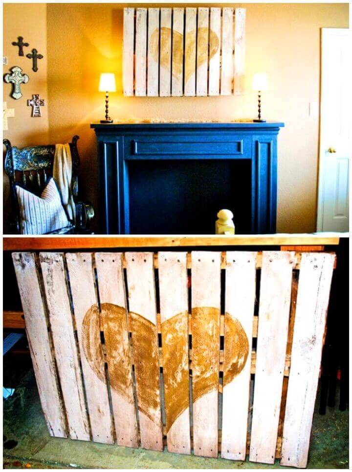DIY Pallet Heart for Home Decor