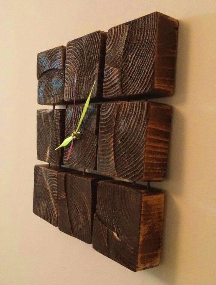 DIY Wooden Clock in 8 Steps