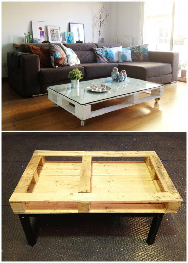 How to DIY Pallet Table 1