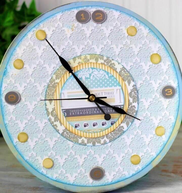 How to DIY Wood Clock