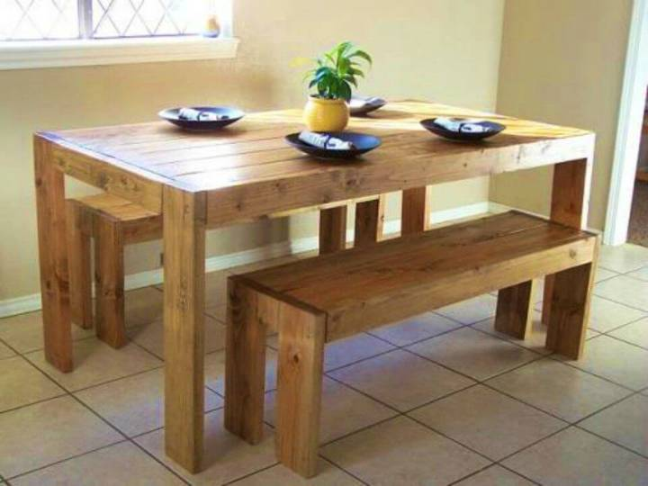 How to Make Farm Table