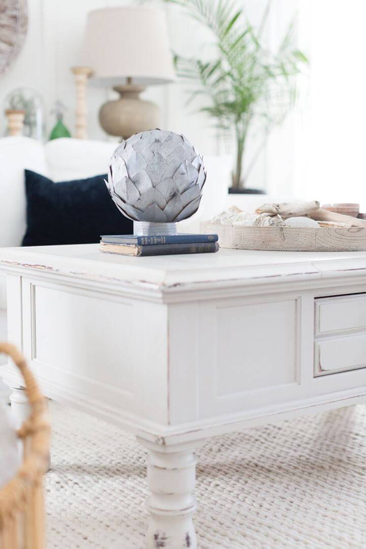 How to Make Faux Zinc Leaf Sphere