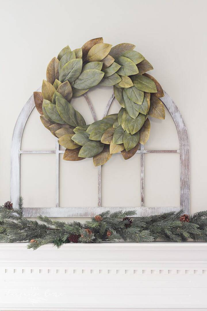 How to Make Fixer Upper Cathedral Window Frame