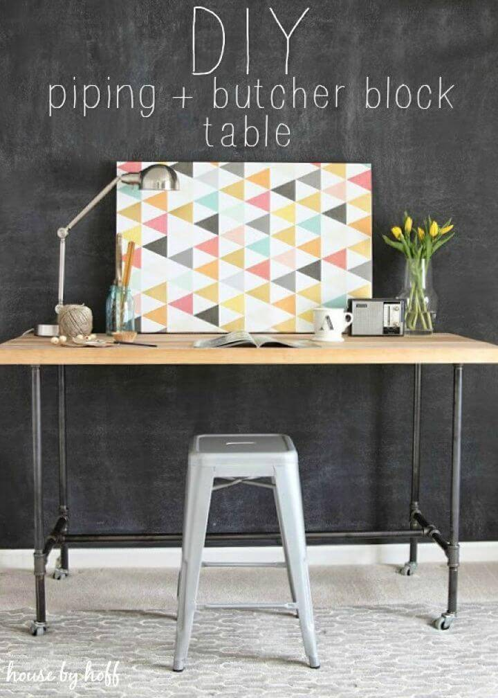 How to Make Piping Table