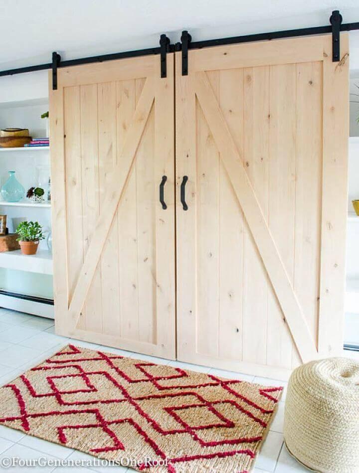How to Make Sliding Barn Doors