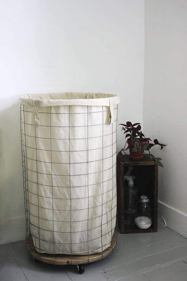 How to Make Wire Laundry Hamper