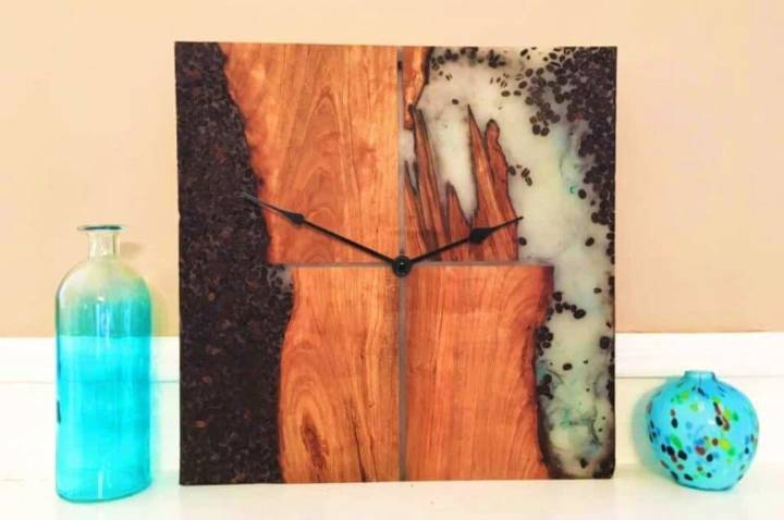 How to Make Wooden Cherry Java Clock