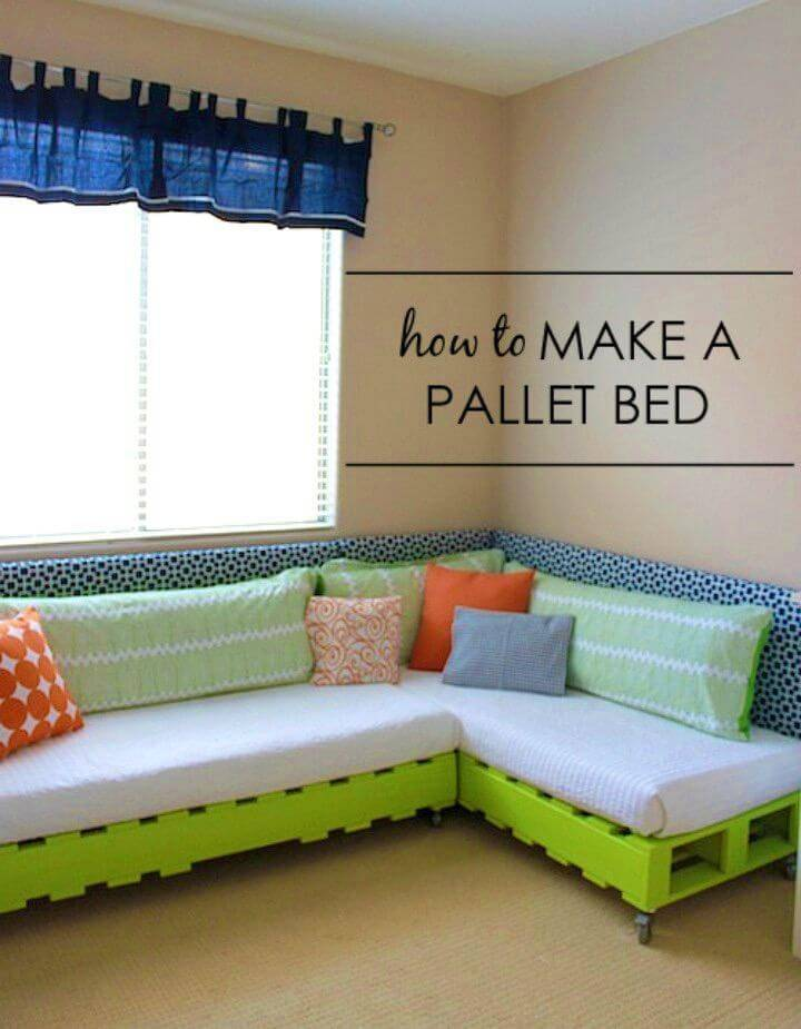 How to Make a Pallet Bed for Nursery Room