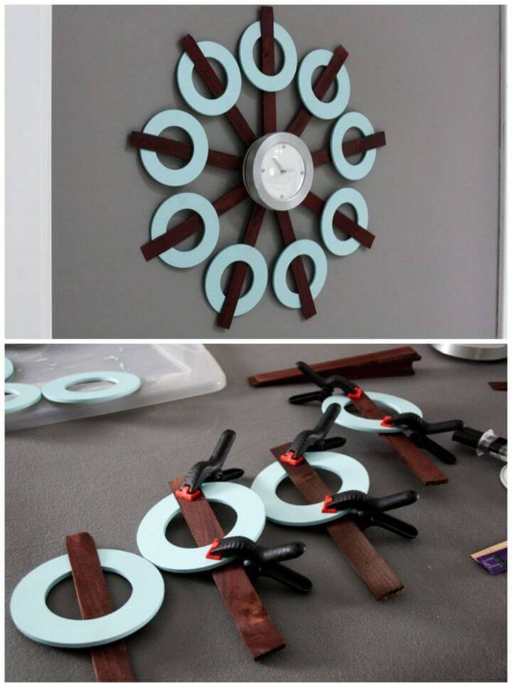 How to Restyle a Goodwill Clock DIY