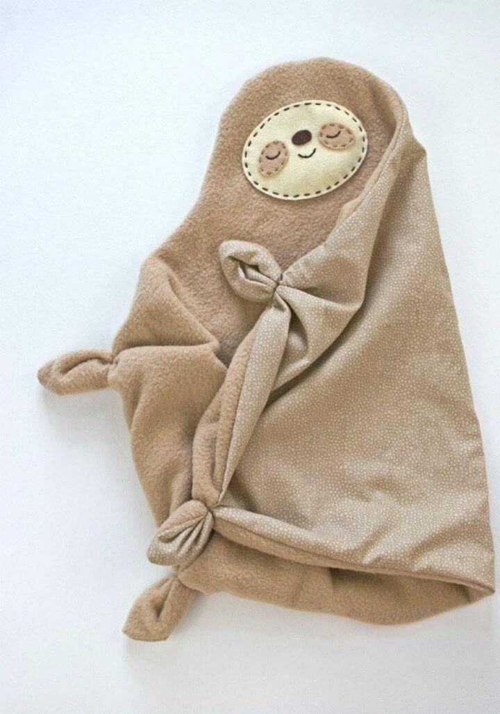 How to Sew a Sleepy Sloth Snuggler