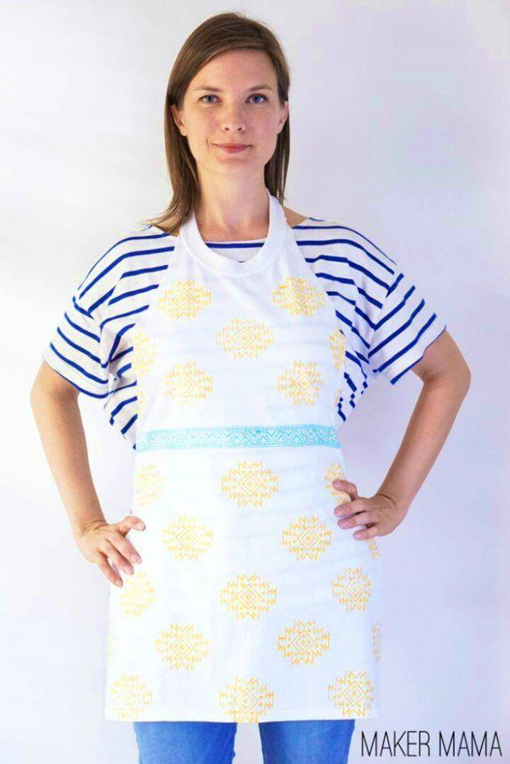 How to Turn T shirt Into Apron