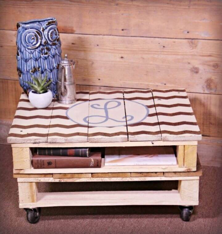 Inexpensive DIY Perfect Pallet Coffee Table