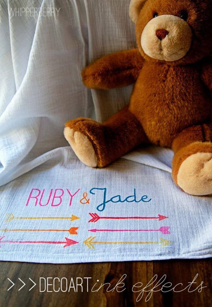 Make Arrow Baby Blanket