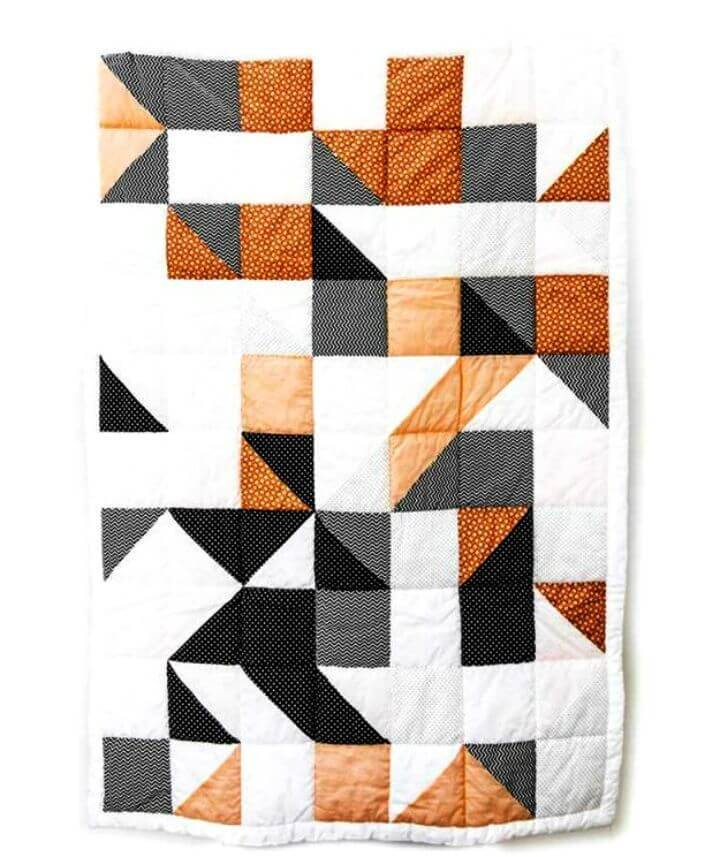 Make Patchwork Baby Blanket
