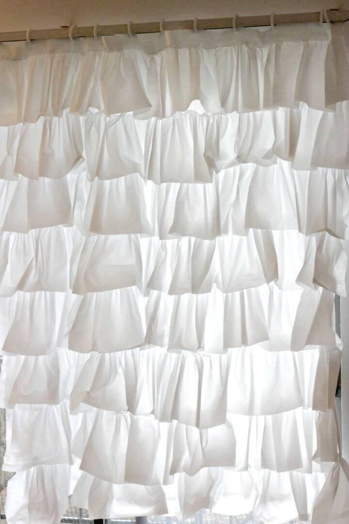 Make Ruffles Anthro Shower Curtainr