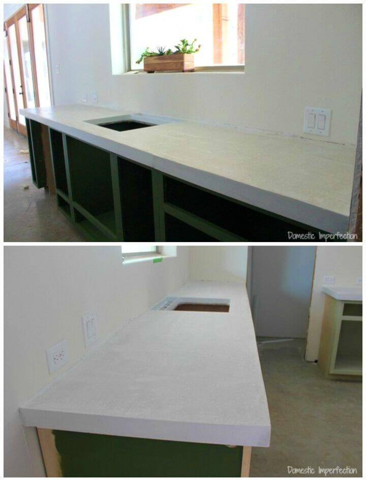 Make Your Own Concrete Countertops
