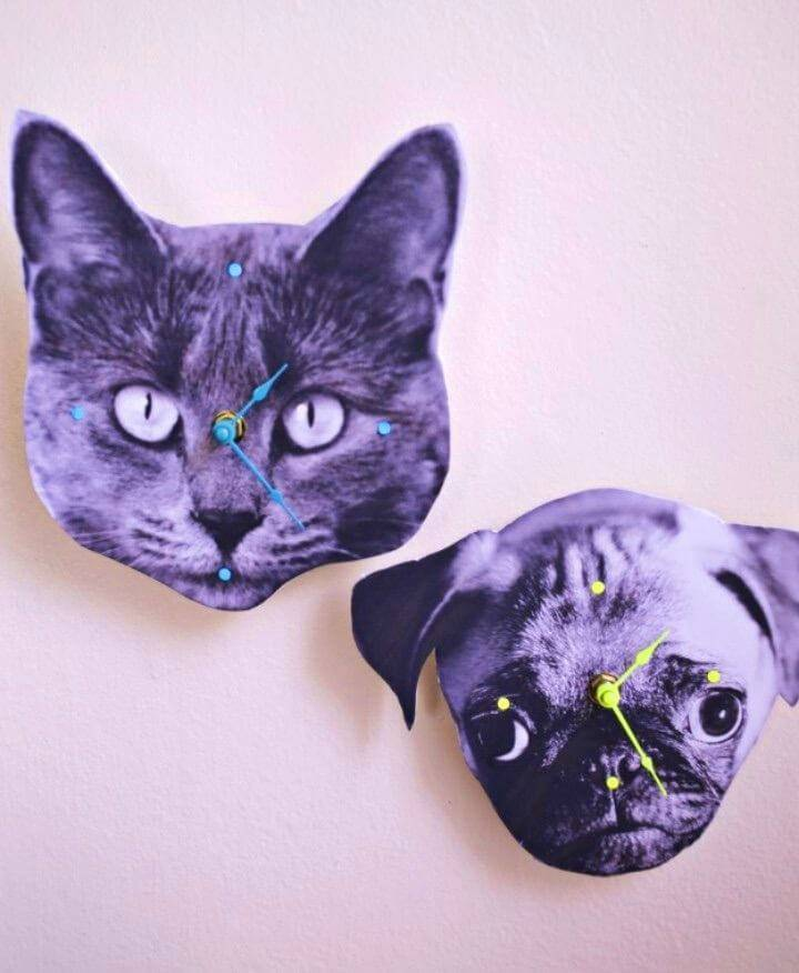 Make Your Own Photo Wall Clock