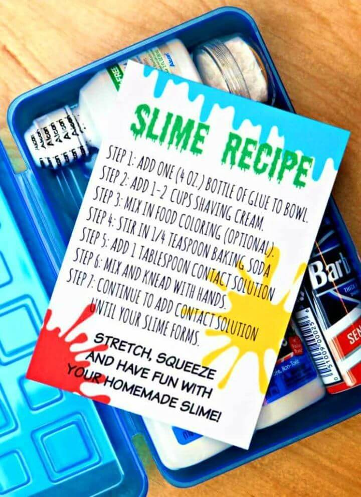 Slime Kit With the Free Printables
