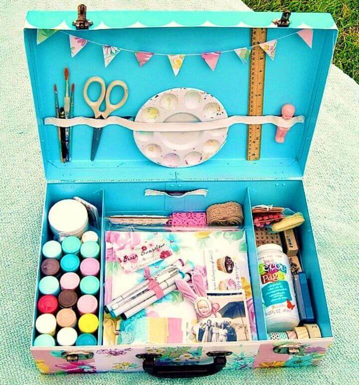 Summertime Traveling Art Kit