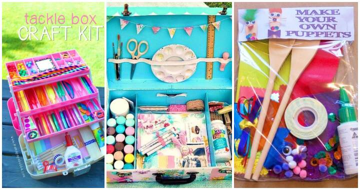 12 Best Craft Kit Ideas To DIY You dont Need To Buy 2