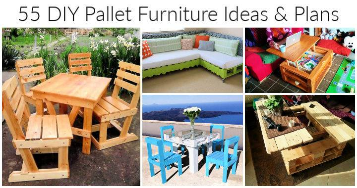 55 DIY Pallet Furniture Ideas