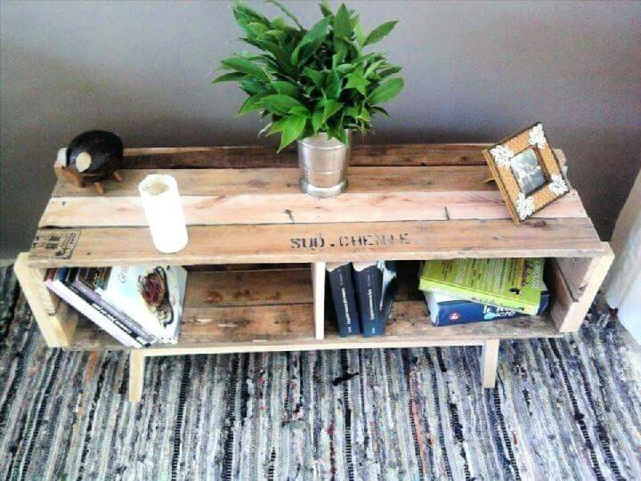 Build Table With Old Pallets