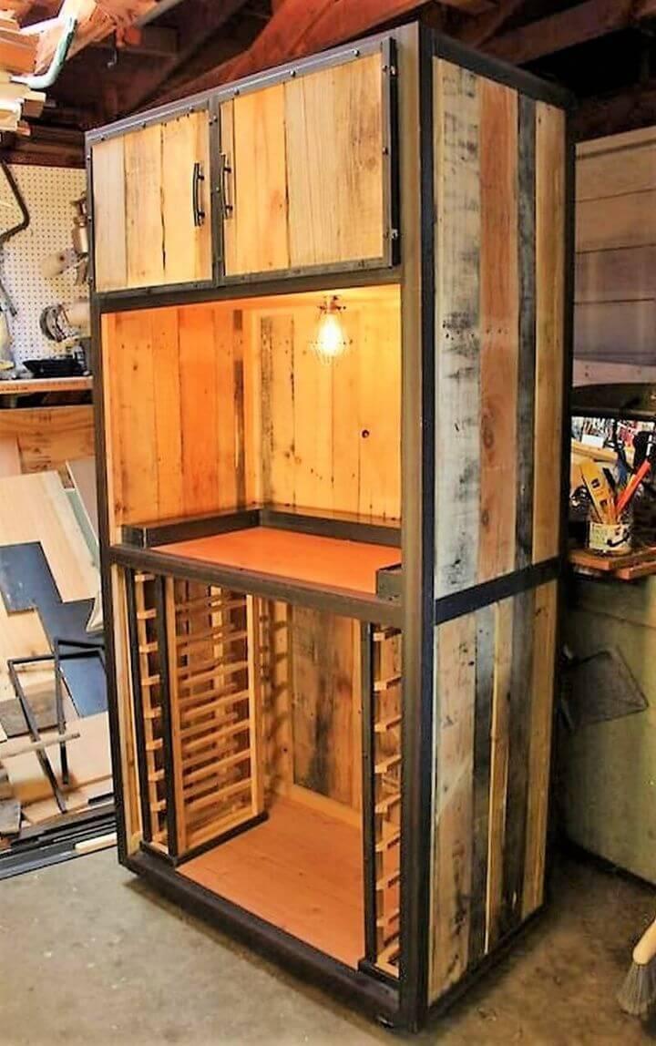 DIY Huge Cabinet out of Pallets