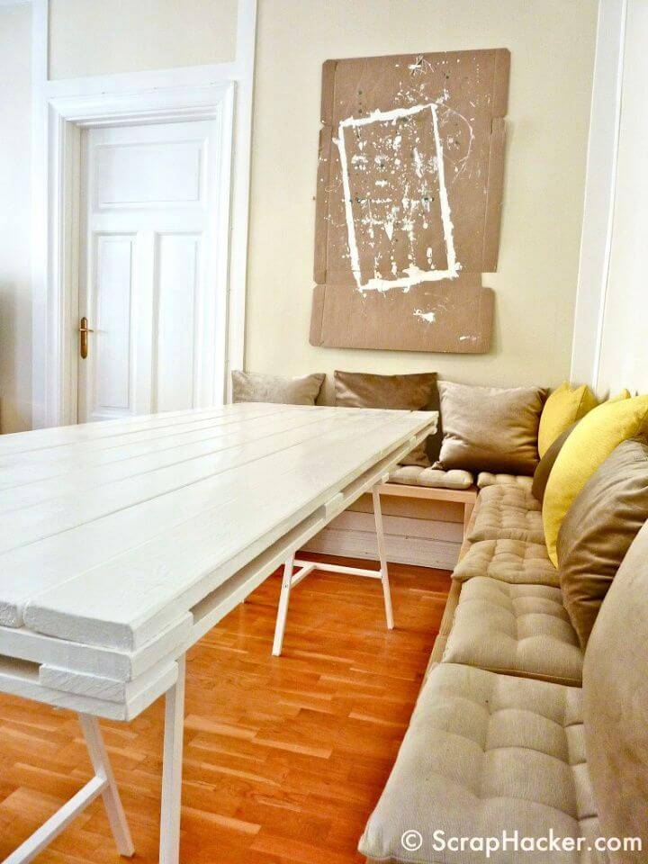 Make 30£ Pallet Dining Table