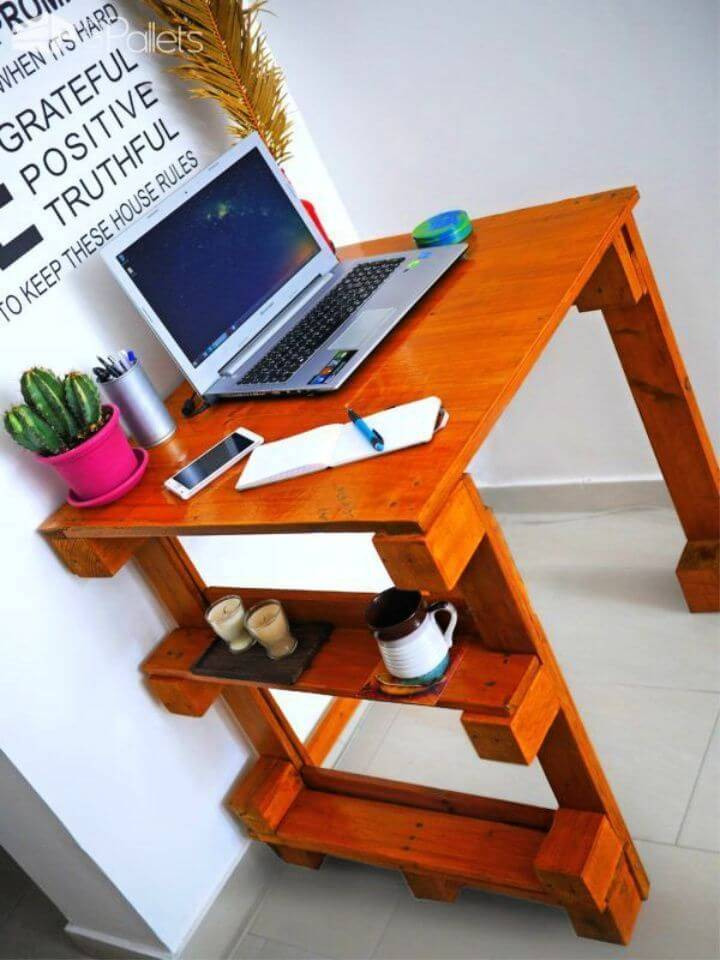 Pallet Office Computer Desk