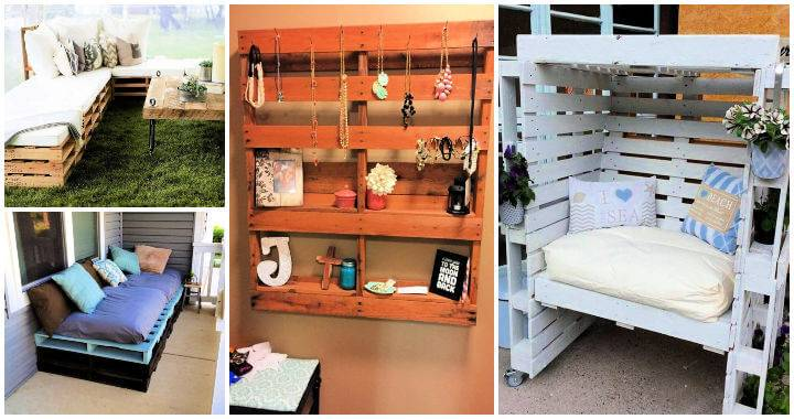 15 Pallet Furniture Plans To Build Your Furniture