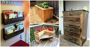 60 Unique Wood Pallet Ideas To DIY This Weekend 1