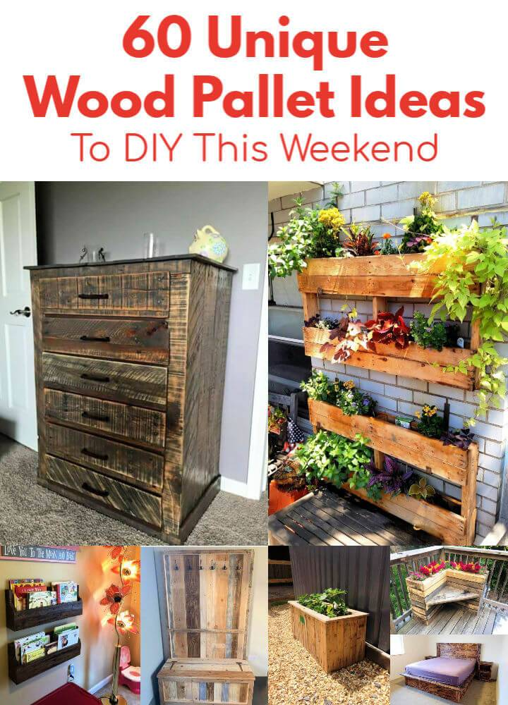 60 Unique Wood Pallet Ideas To DIY This Weekend