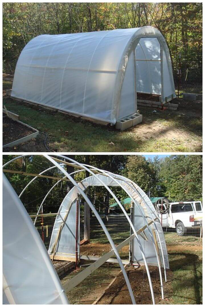 Adorable DIY PVC Pipe Greenhouse for 50