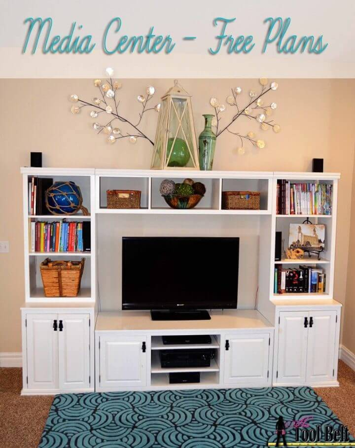Affordable DIY Entertainment Center