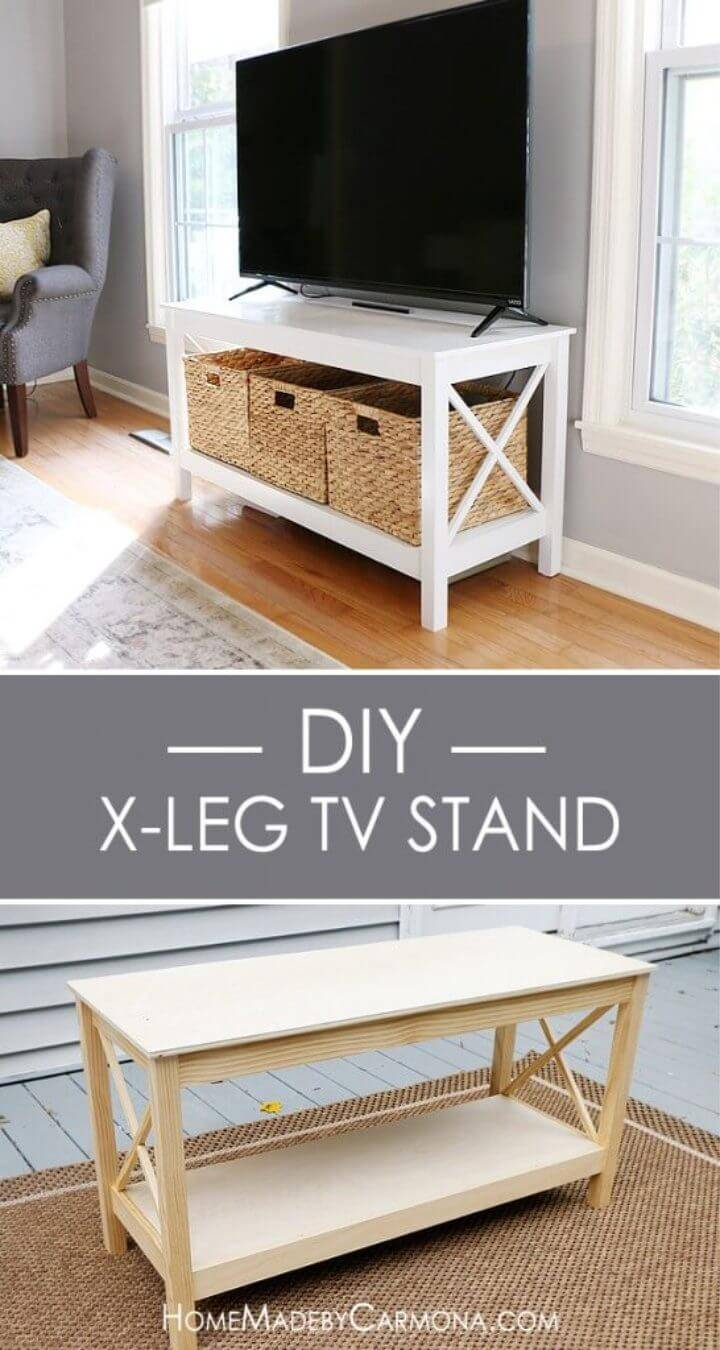 Build Your Own X leg TV Stand