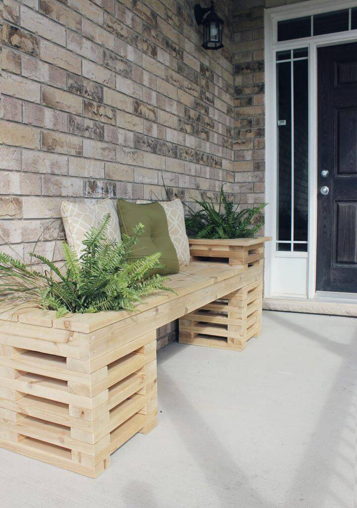 Build a Cedar Bench for Entryway