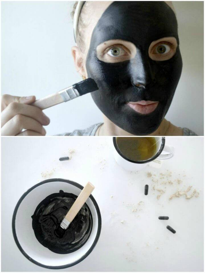 Cleansing Face Mask with Charcoal