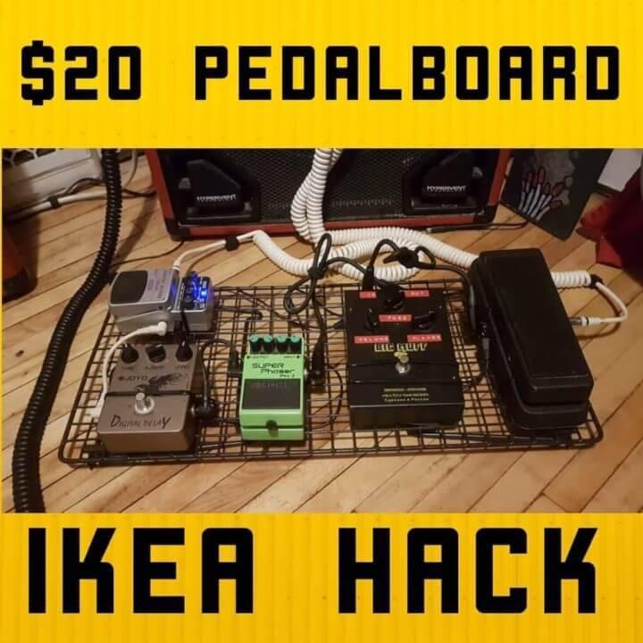 DIY 15 Pedalboard