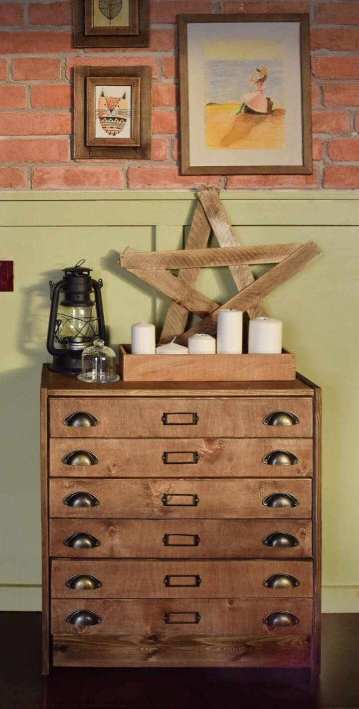 DIY Apothecary Cabinet from Rast Chest Of Drawers 1