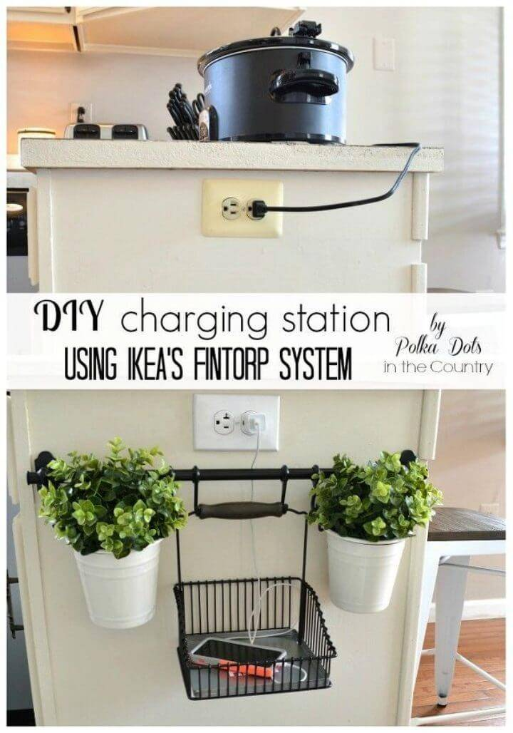 DIY Charging Station Using Ikeas Fintorp System