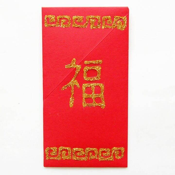 DIY Chinese Red Envelope
