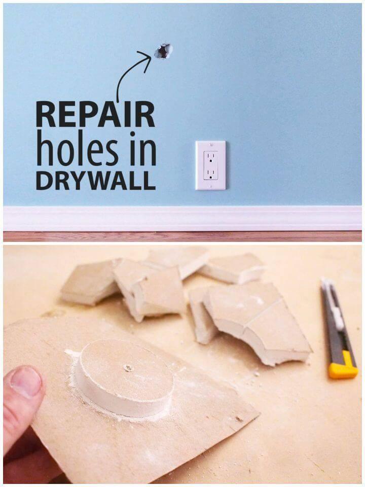 DIY Fix a Hole in Drywall