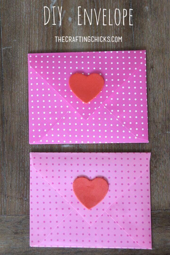 DIY Love Letter Envelope